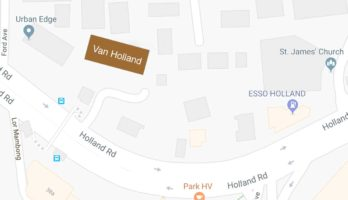 van-holland-showflat-location-map