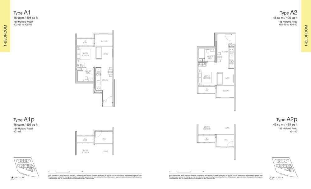 van-holland-floor-plan-1-bedroom-type-a1