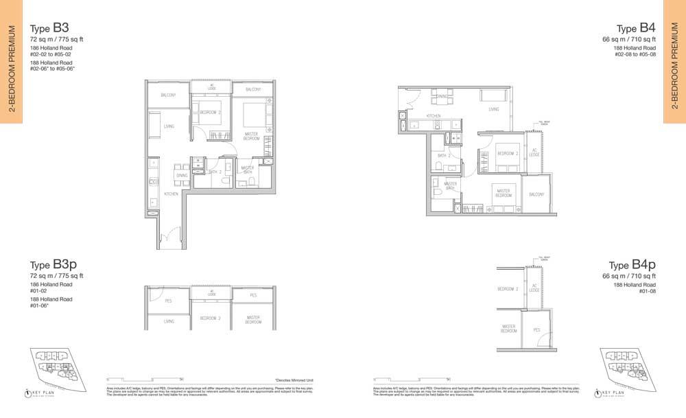 van-holland-floor-plan-2-bedroom-type-b3